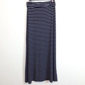 J.Crew Modest Maxi Skirt Striped